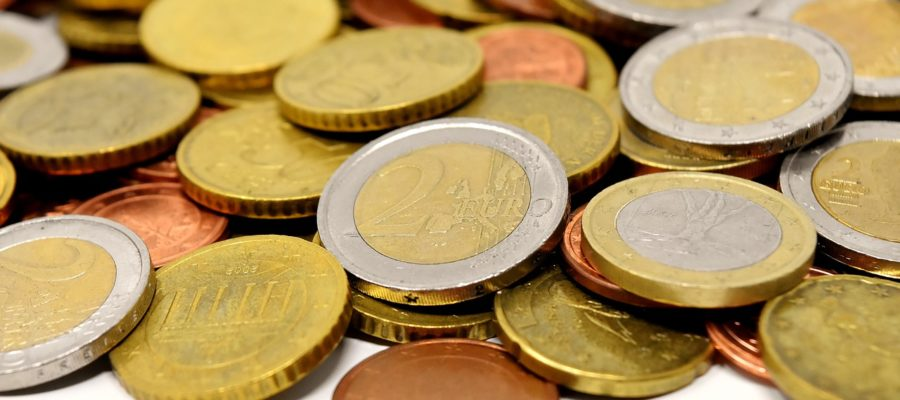 Coins Money Currency Euro Specie