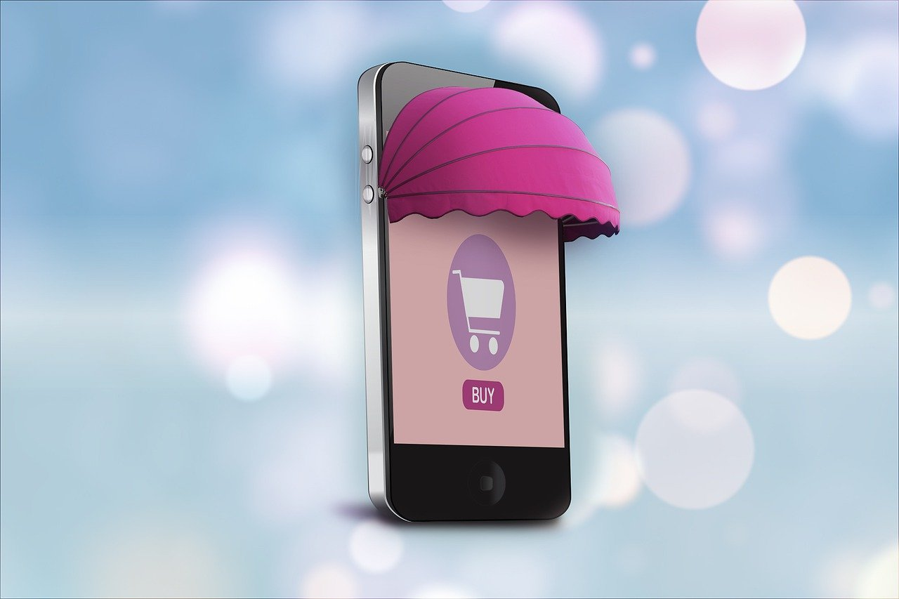 Online Shop Shopping Mobile Phone - Alexandra_Koch / Pixabay